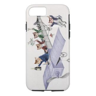 Fall das iPhone7 des Katzen-Liebhabers - Vintages iPhone 8/7 Hülle
