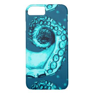 Fall der Aqua-u. Marine-Seekraken-Tentakel-iPhone7 iPhone 8/7 Hülle