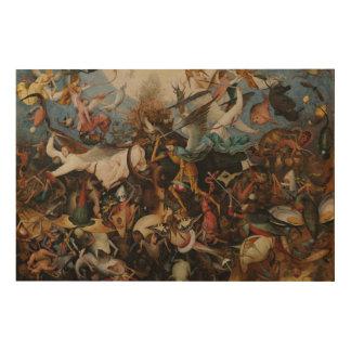 Fall der Rebellenengel Pieter Bruegel groß Holzleinwand