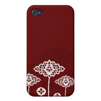 Fall der Spitze-Blumen-iPhone4 iPhone 4/4S Hüllen