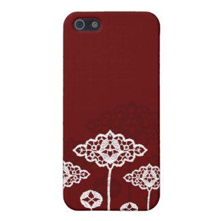 Fall der Spitze-Blumen-iPhone4 iPhone 5 Etuis