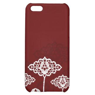 Fall der Spitze-Blumen-iPhone4 iPhone 5C Schale