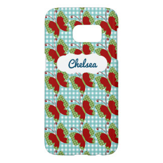 Fall des Name-Gingham-Schmetterlings-SG7