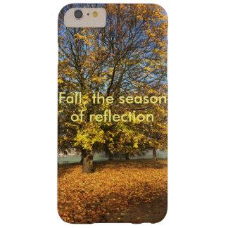 Fall, die Jahreszeit der Reflexion Barely There iPhone 6 Plus Hülle