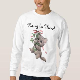 Fall dort im Mistelzweig-Kätzchen Sweatshirt