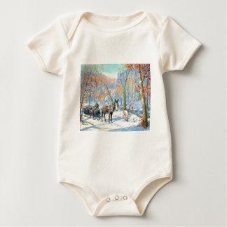 Fall-Ernte des Impressionismus-| Baby Strampler