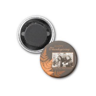 Fall-Ernte-Foto-Magnet 2 Runder Magnet 2,5 Cm