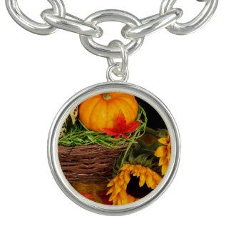 Fall-Ernte-Sonnenblumen Armband