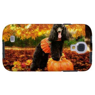 Fall-Erntedank - Gidget - Pudel Galaxy S4 Hülle