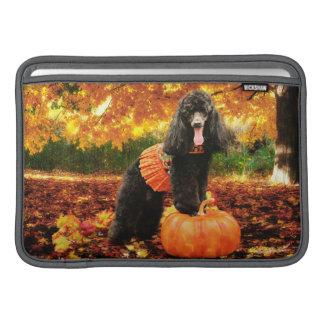 Fall-Erntedank - Gidget - Pudel MacBook Sleeve