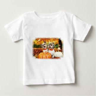 Fall-Erntedank - maximal u. Löwe - Yorkies Baby T-shirt