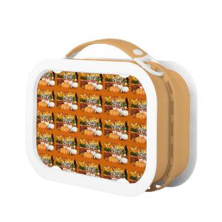 Fall-Erntedank - maximal u. Löwe - Yorkies Brotdose
