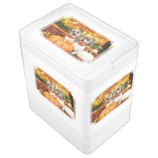 Fall-Erntedank - maximal u. Löwe - Yorkies Kühlbox
