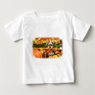 Fall-Erntedank - maximal - Yorkie Baby T-shirt