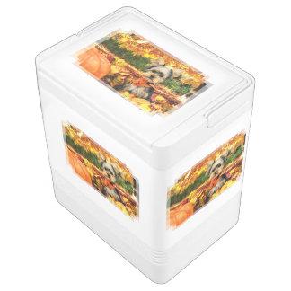 Fall-Erntedank - maximal - Yorkie Kühlbox