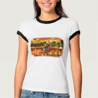 Fall-Erntedank - Tucker - Yorkie T-Shirt