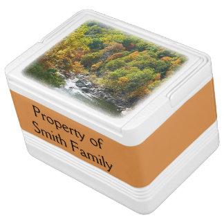 Fall-Farbe am Ohiopyle Staats-Park Igloo Kühlbox