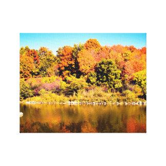 Fall-Farbontario-Foto-Druck Leinwanddruck