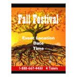 Fall-Festival-Halloween-Ereignis-oder Fall-Ereigni Flyerbedruckung