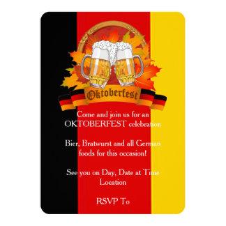 Fall-Festival Oktoberfest Party Einladungen
