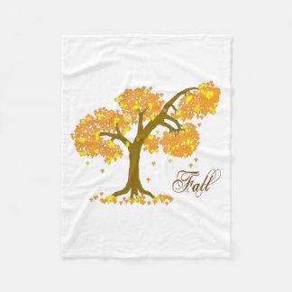 Fall-Fleece-Decke, klein Fleecedecke