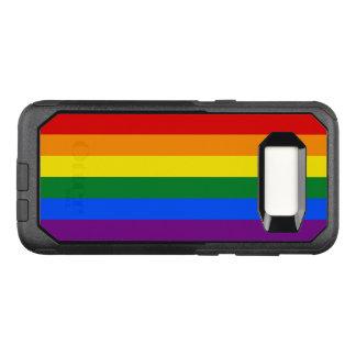 Fall Gay Pride-Regenbogen-Flaggen-Samsung OtterBox OtterBox Commuter Samsung Galaxy S8 Hülle