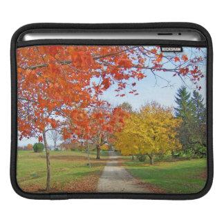 Fall-Herbst-Blätter iPad Sleeve