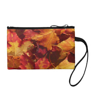 Fall-Herbst-Blätter Kleingeldbörse