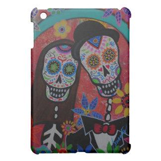 Fall HOCHZEITS-PAARE Dia de Los Muertos IPad iPad Mini Hülle