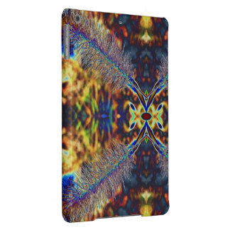 Fall-Holz- psychedelisches Kunst-iPad Air ケース