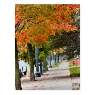 Fall in Iowa Postkarte