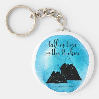 Fall in Liebe in den Rockies Keychain Schlüsselanhänger