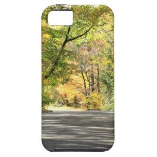 Fall in Neu-England hintere Straße iPhone 5 Case