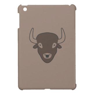 Fall ipad dunkles Braun des Bisons iPad Mini Hülle