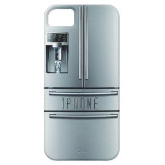 Fall iphone Kühlschrank des rostfreien Stahls Etui Fürs iPhone 5