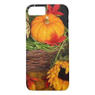 Fall-Jahreszeit-Ernte-glücklicher Erntedank iPhone 8/7 Hülle