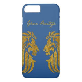 Fall-Königsblau Handhabung am Boden König-Of König iPhone 8 Plus/7 Plus Hülle