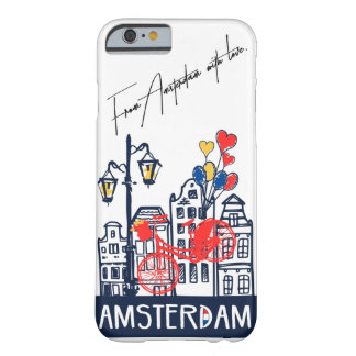 Fall Liebe I Amsterdams Iphone Barely There iPhone 6 Hülle