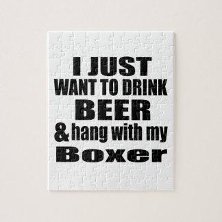 Fall mit meinem Boxer Puzzle