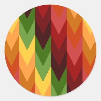 Fall-Muster NO.1: Aufkleber