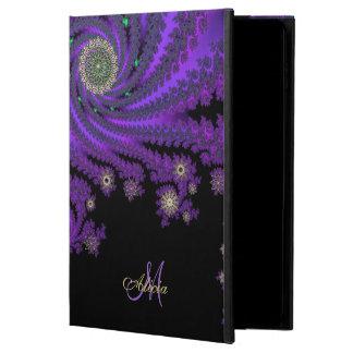 Fall mystisches Monogramm-keltischer Fraktal-iPad