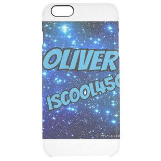 Fall Oliver IsCool450 für IPhone 6/6s Durchsichtige iPhone 6 Plus Hülle