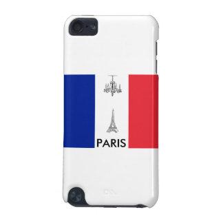 Fall Paris-Thema-französischer iPod Touch 5G Hülle