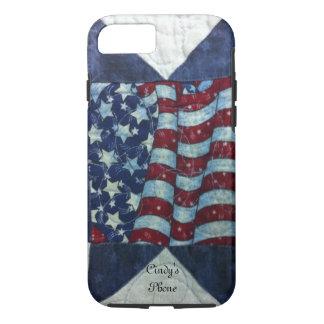 Fall - patriotischer personalisierter iPhone 8/7 hülle