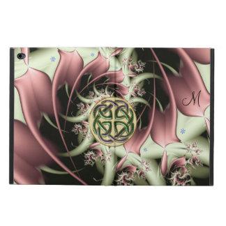 Fall Pfirsich-BronzeFraktal-keltischer Knoten-iPad
