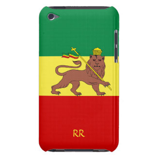 Fall Rasta Flaggen-ÄthiopienReggaeipod-Touch-4G iPod Touch Case