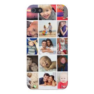 Fall-Savvy glatte EndeInstagram Foto-Collage iPhone 5 Case