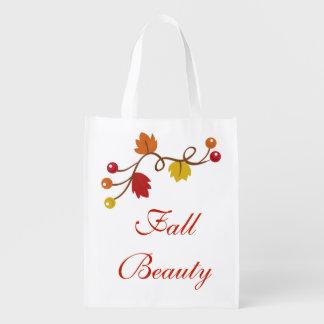 Fall-Schönheit Wiederverwendbare Einkaufstasche