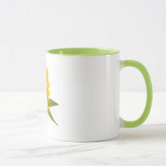 Fall-Sonnenblume und Eichel-Tassen u. Gläser Tasse