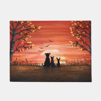 Fall-Sonnenuntergang Türmatte